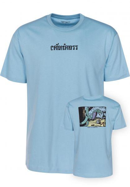 Carhartt WIP T-Shirts King Cobra capri Vorderansicht