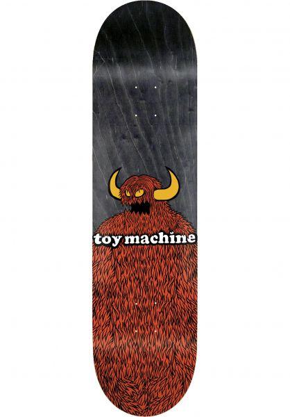 Toy-Machine Skateboard Decks Furry Monster natural vorderansicht 0264805