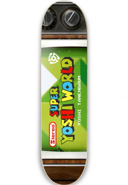 Stereo Skateboard Decks Yoshi Tanenbaum Super multicolored vorderansicht 0262134
