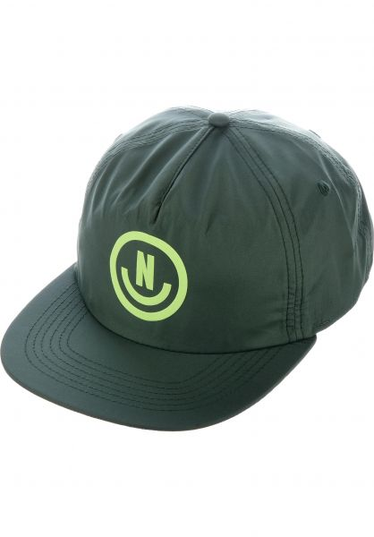 Neff Mens Black Neffection Snapback Cap Hat New