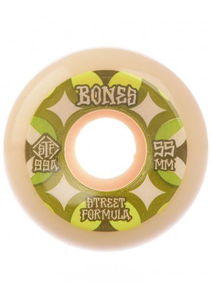 Bones Wheels Rollen STF Retros 99A V5 Sidecut white vorderansicht 0135054