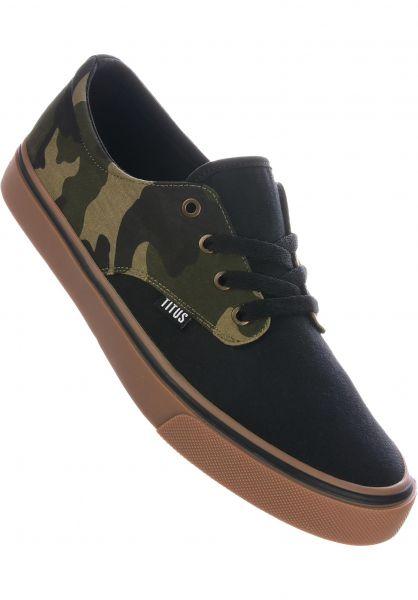 TITUS Alle Schuhe Clubman camouflage-black-gum vorderansicht 0604300
