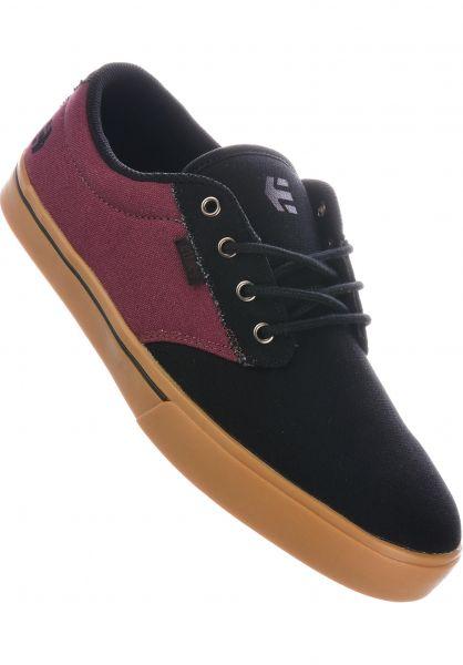 etnies Alle Schuhe Jameson 2 Eco black-red-gum vorderansicht 0602360