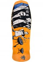 Schmitt-Stix Skateboard Decks Joe Lopes BBQ Stains natural-orange Vorderansicht