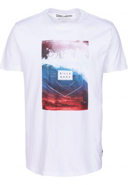 Billabong T-Shirts Section white vorderansicht 0399901