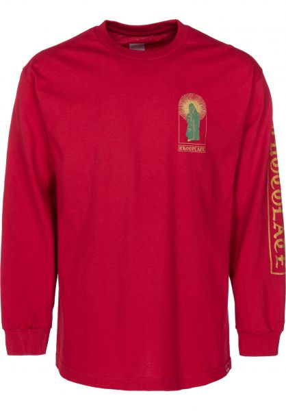 Chocolate Longsleeves Guadalupe cardinal vorderansicht 0383137