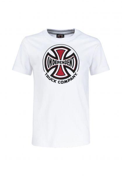 Independent T-Shirts Youth Truck Co. white unteransicht 0321688