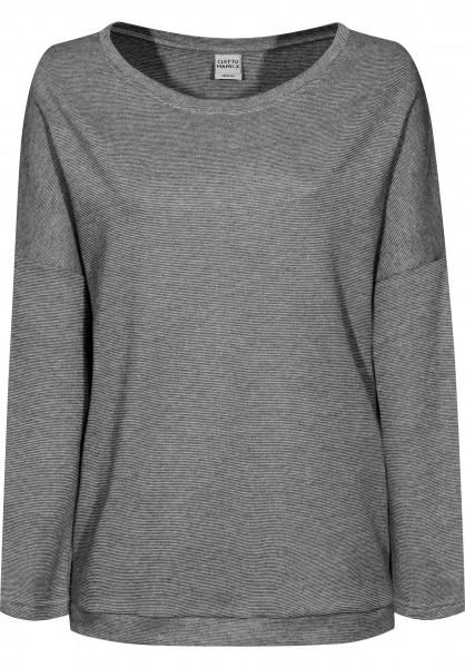Cleptomanicx Sweatshirts und Pullover Henni pirateblack Vorderansicht