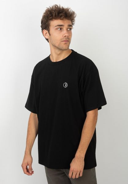 Polar Skate Co T-Shirts Team black vorderansicht 0320477