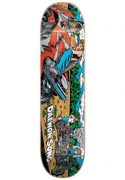 Almost Skateboard Decks Daewon Rice Burner R7 multicolored Vorderansicht