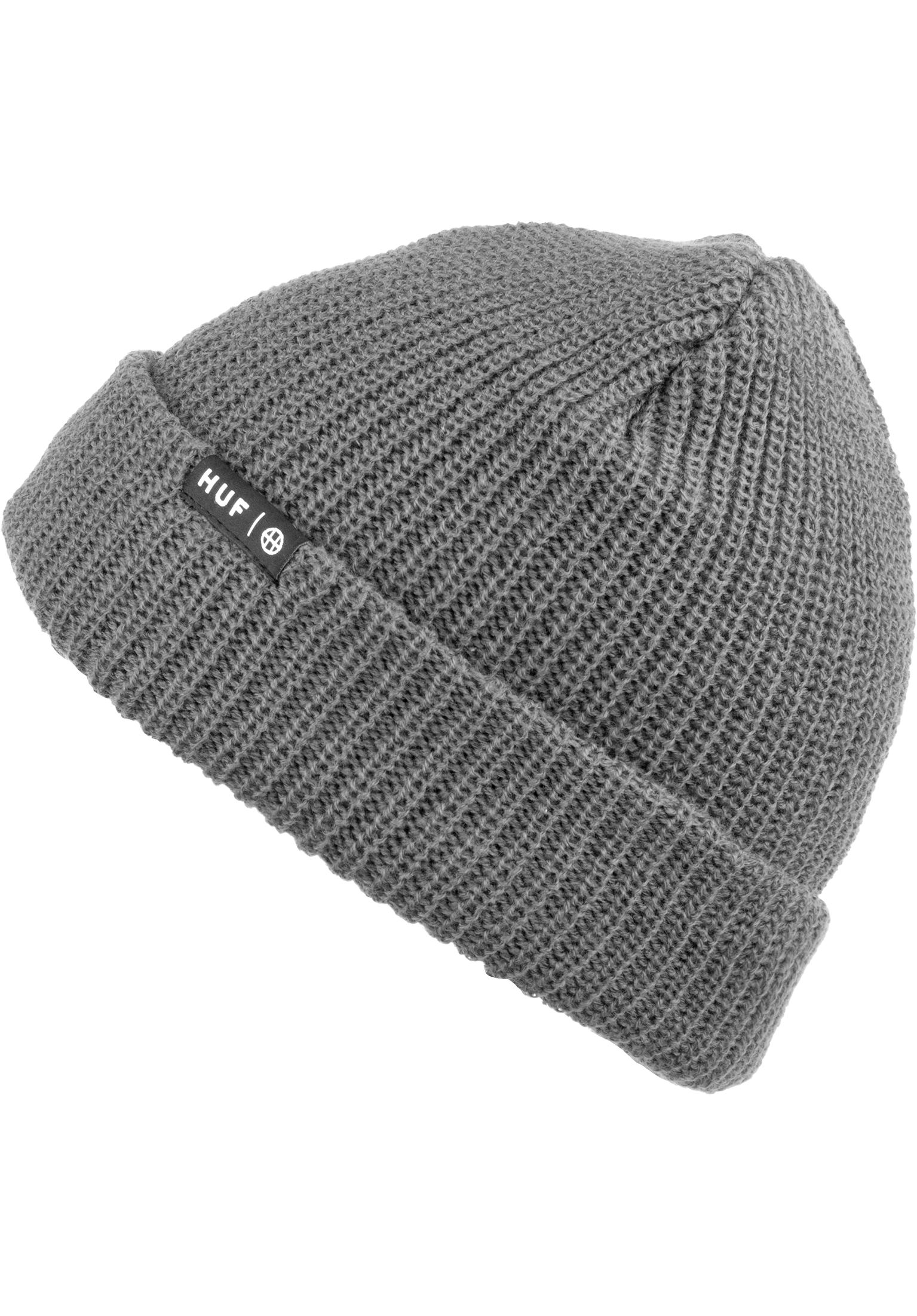 6dddfde062af8 Usual HUF Beanies in greyheather for Men