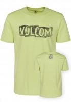 Volcom T-Shirts Edge shadowlime Vorderansicht