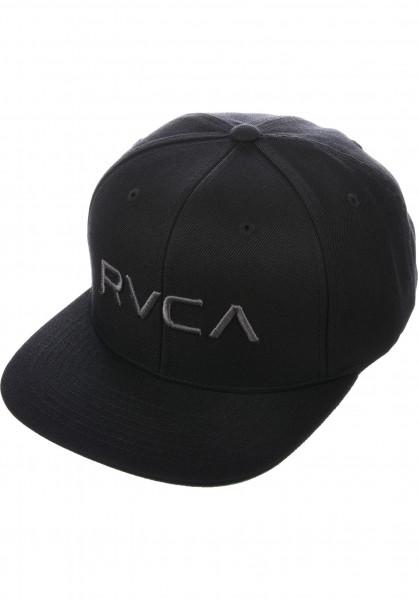 RVCA Caps RVCA Twill Snapback II black-charcoal Vorderansicht