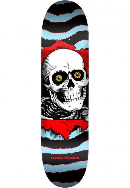 Powell-Peralta Skateboard Decks Ripper Birch one off-blue vorderansicht 0117166