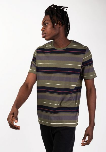 Captain Fin T-Shirts Wagoneer olive vorderansicht 0320290