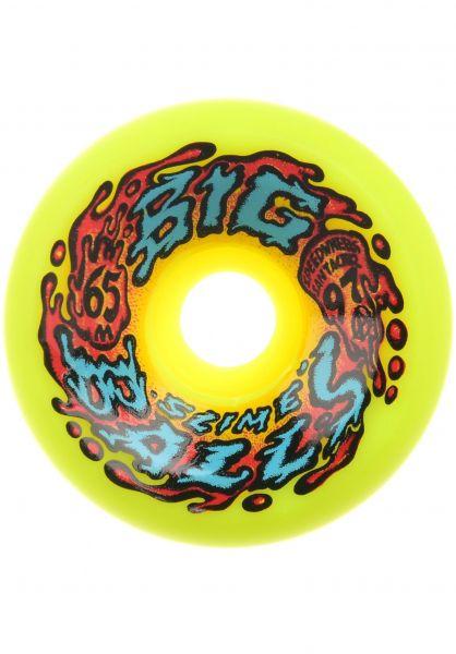 Santa-Cruz Rollen Slime Balls Big Balls 97A yellow vorderansicht 0133138