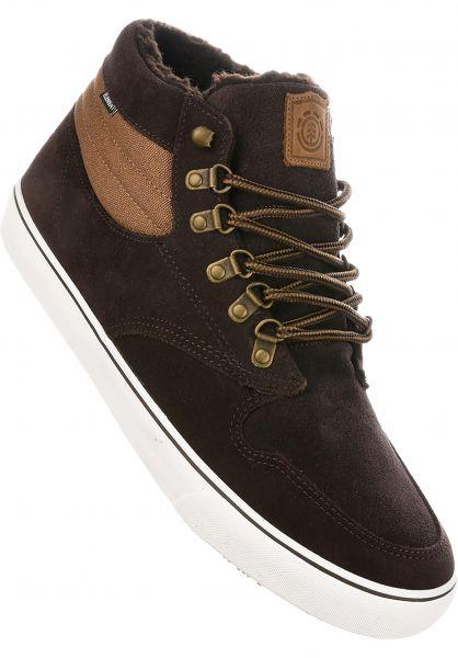 Element Alle Schuhe Topaz C3 Mid Sherpa chocolate-walnut Vorderansicht