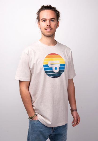 TITUS T-Shirts Udin beigemottled vorderansicht 0398359