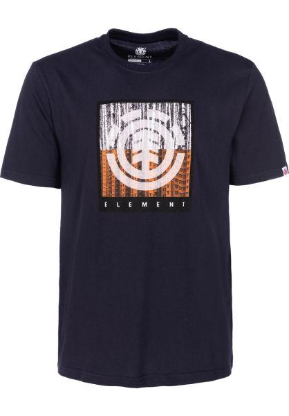 Element T-Shirts Density eclipsenavy vorderansicht 0399804