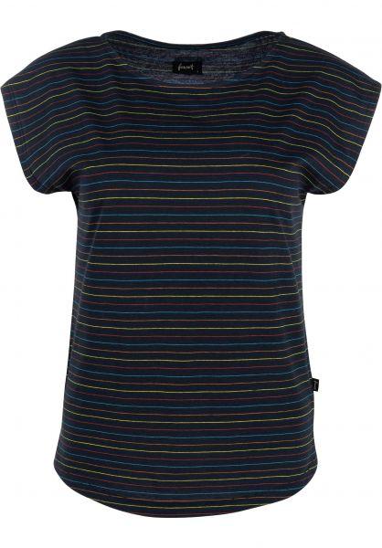 Forvert T-Shirts Amar navy-multi vorderansicht 0320108