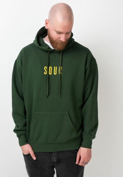 Sour Solution Hoodies Sour Army bottlegreen vorderansicht 0445880