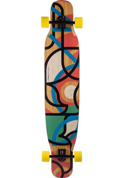Loaded Longboards komplett Bhangra V2 Freestyle Dancing Flex 2 multicolored vorderansicht 0194291