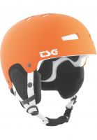 TSG Snowboardhelme Gravity Solid Color flat-orange Vorderansicht