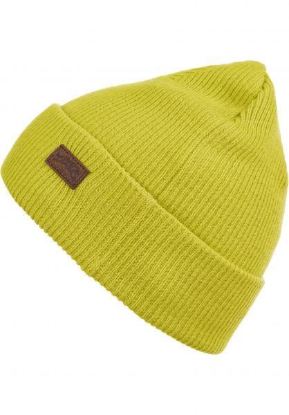 TITUS Mützen Vladik Patch yellow vorderansicht 0572192