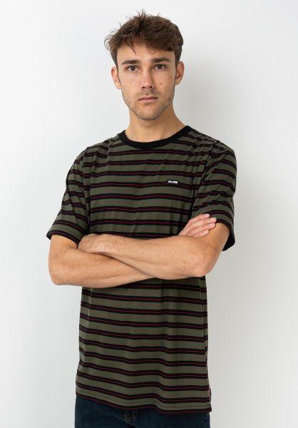 Globe T-Shirts Moonshine military vorderansicht 0392160
