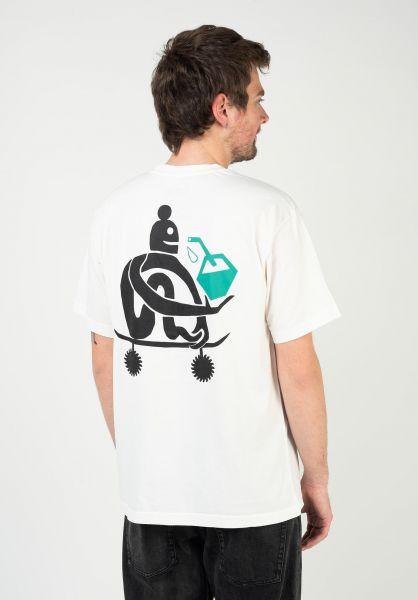 Element T-Shirts x Fernando Elvira After Skate offwhite vorderansicht 0324002