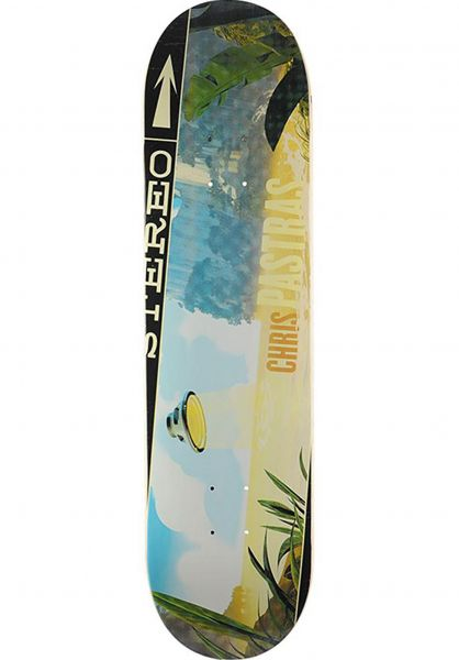 Stereo Skateboard Decks Soundspace Pastras multicolored Vorderansicht