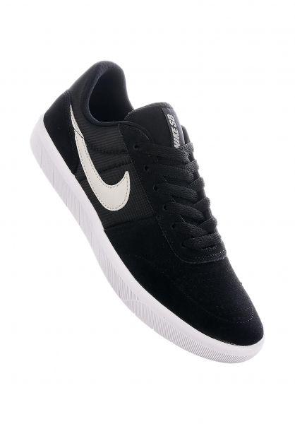 Nike SB Alle Schuhe Team Classic black-lightbone-white vorderansicht 0612469