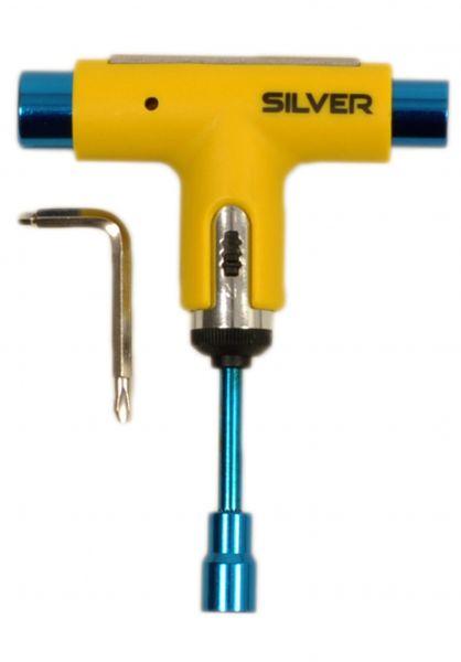 Silver Skate-Tools Neon yellow-blue vorderansicht 0198067