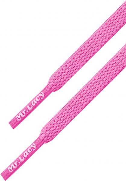 Mr. Lacy Schnürsenkel Flexies lipstick-pink vorderansicht 0640008