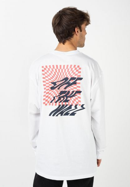 Vans Longsleeves V66 Off The Wall white vorderansicht 0383637