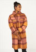 iriedaily-uebergangsjacken-checky-shirt-jacket-maroonmelange-vorderansicht-0504739