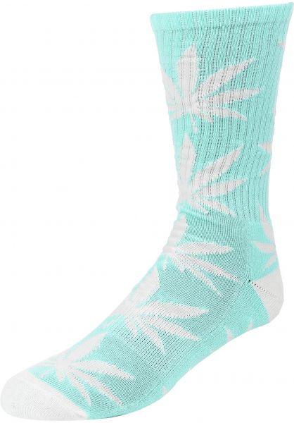 HUF Socken Plantlife Crew Sock harborgrey vorderansicht 0630394