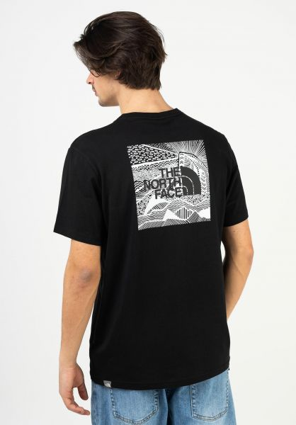 The North Face T-Shirts Redbox Celebration tnfblack vorderansicht 0322492