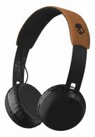 Skullcandy Kopfhörer Grind Wireless On Ear black-black-tan Vorderansicht