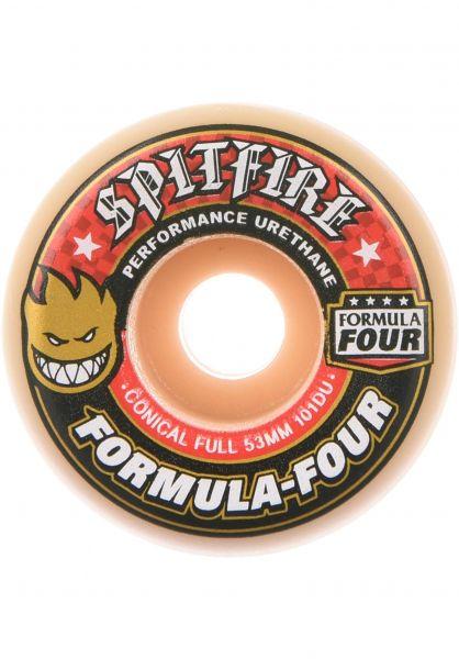 Spitfire Rollen Formula Four Conical Full 101A white Vorderansicht