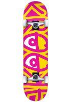 krooked-skateboard-komplett-big-eyes-ii-yellow-pink-vorderansicht-0162261