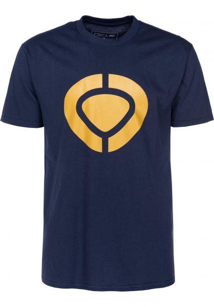 C1RCA T-Shirts Icon navy vorderansicht 0396800