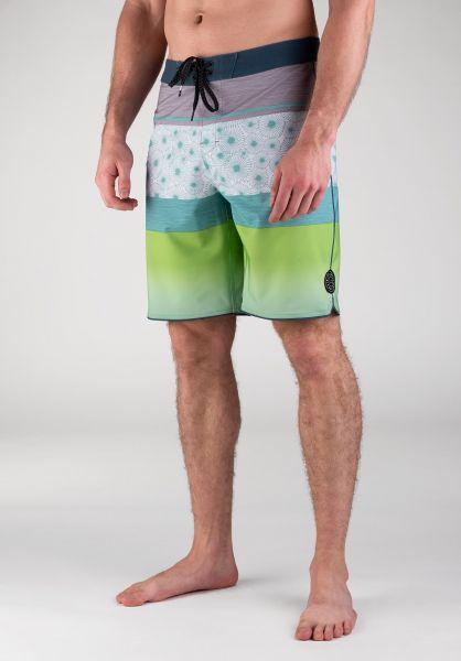 """Rip Curl Beachwear Mirage Visions 20"""" green vorderansicht 0205295"""