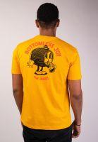 the-dudes-t-shirts-bottomless-joy-yellow-vorderansicht-0383332