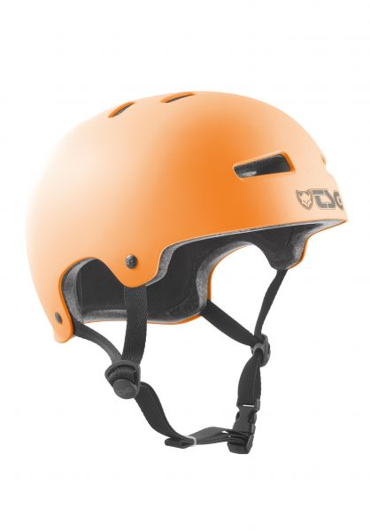 TSG Helme Evolution Solid Colors satin acid orange vorderansicht 0075046