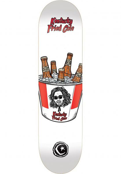 Foundation Skateboard Decks Wilson Kentucky Fried white Vorderansicht