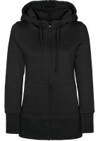 Rules Zip-Hoodies Lambda Girls black Vorderansicht