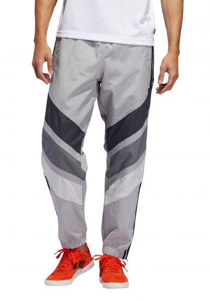 adidas-skateboarding Jogginghosen 3ST Pant lightgrey-darkgrey vorderansicht 0680207