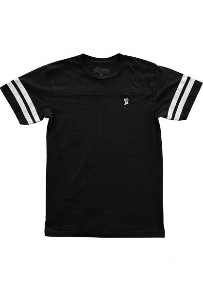 Meow Skateboards T-Shirts Embroided Jersey black Vorderansicht