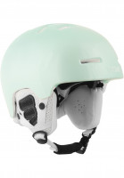 TSG Snowboardhelme Arctic Nipper Maxi Solid Color gloss-turquoise Vorderansicht